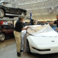 repaired 1 millionth corvette unveiling