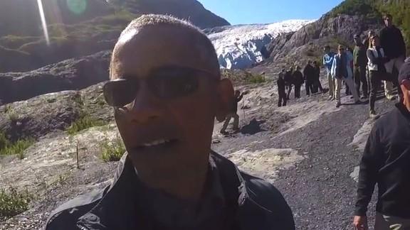 Obama selfie glacier Alaska climate change_00000000.jpg