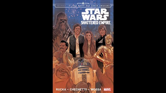 """What happened after """"Return of the Jedi""""? The comic book """"Shattered Empire"""" tells the story."""