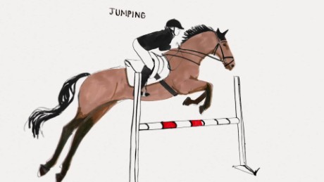 The equestrian disciplines you can see at Aachen