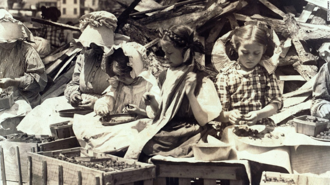 Child labor, long working hours and a lack of weekends are some of the conditions that led to the labor movement of the 19th and 20th centuries. As many workers enjoy the Labor Day 2015 holiday, many of those conditions -- like this example of child labor in 1890 -- no longer exist, and organized labor is losing members. Is the labor movement dead? Click through the gallery to learn more.