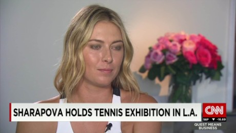 exp Maria Sharapova discusses tennis and business on CNN International_00002001