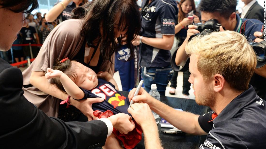Baby Vettel