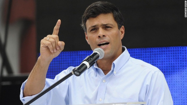 White House calls for the release of Leopoldo Lopez
