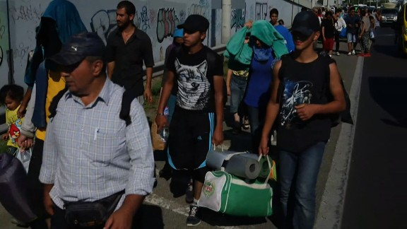 hungary migrants walk towards border damon lkl_00002410.jpg