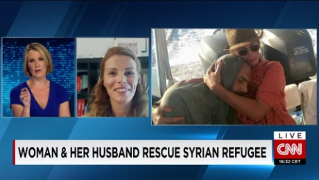 exp Greek woman saves life of a Syrian refugee_00002001.jpg