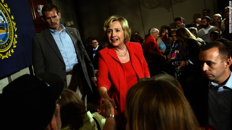 Hillary Clinton on emails: 'I'm sorry'