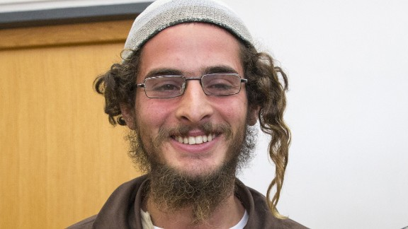 """Israel is struggling to deal with right-wing Jewish attacks on Palestinians. In August, authorities ordered the detention without trial of Meir Ettinger. Police said Ettinger was suspected of """"nationalist crimes"""" but did not accuse him of direct involvement in the July 31 firebombing in which a Palestinian couple and their 18-month-old son were burnt to death."""