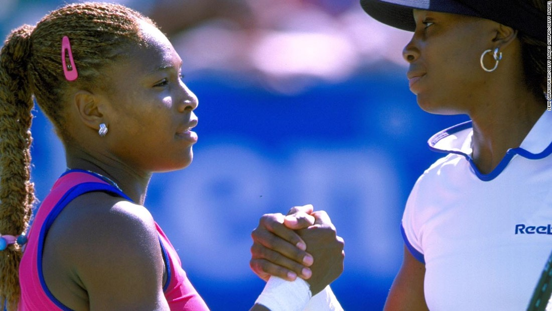 Serena and Venus have played each other 27 times in 17 years.