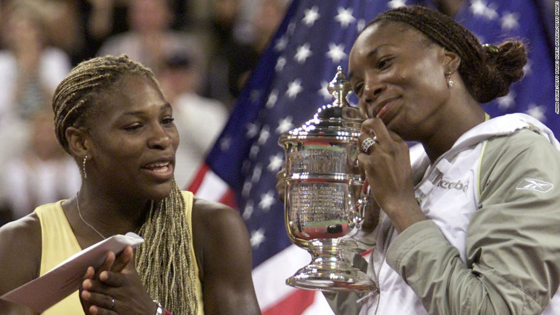 The Williams sisters are the only two women during the Open era to play each other in four consecutive Grand Slam finals.