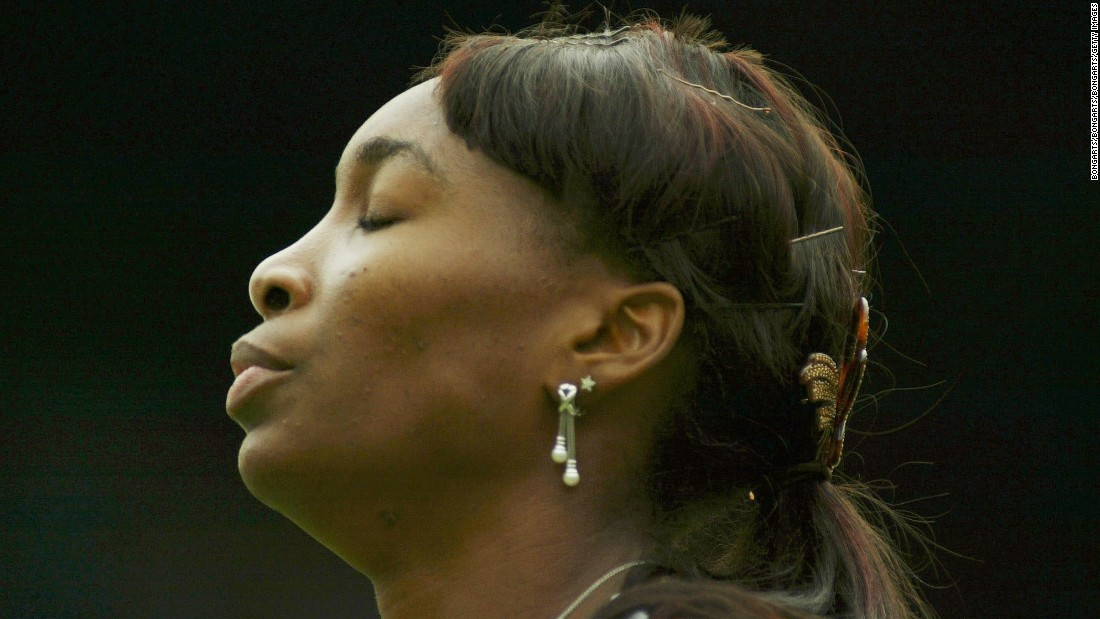 Venus lost five Grand Slam finals in a row against her sister in two years.
