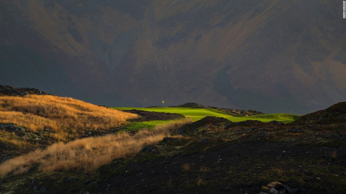 Lofoten Links has been nominated as the World's Best New Golf Course 2015 by World Golf Awards.
