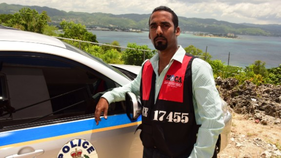Kevin Watson, a corporal with MOCA, Jamaica