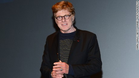 Actor Robert Redford attends the 29th Santa Barbara International Film Festival American Riviera Award to Robert Redford at the Arlington Theatre on February 7, 2014 in Santa Barbara, California.