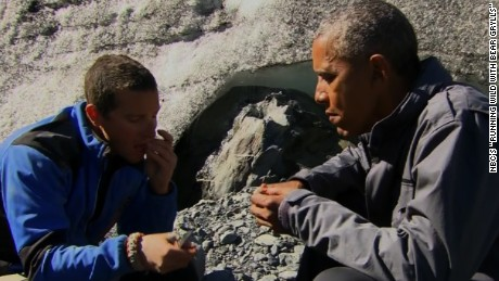 Bear Gryll's was accompanied by former US president Barack Obama on an expedition in Alaska in 2015.