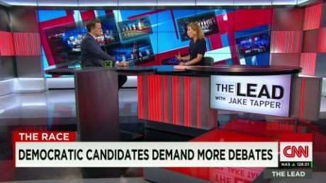 Democratic candidates demand more debates Debbie Wasserman Schultz Lead INTV_00010819