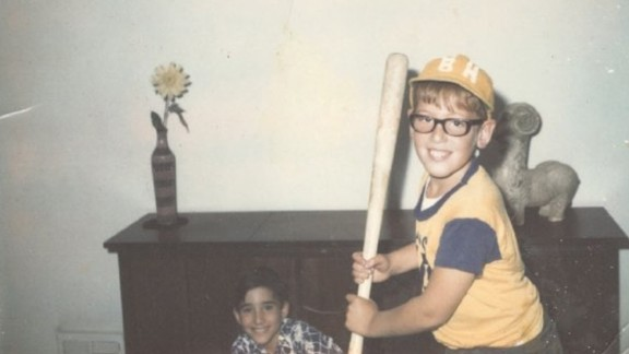 Brian Cuban went through a large part of his life with severe worries about his body. Here he is as a child in 1968.