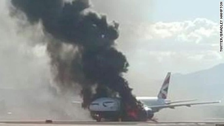 british airways plane fire ac _00012921