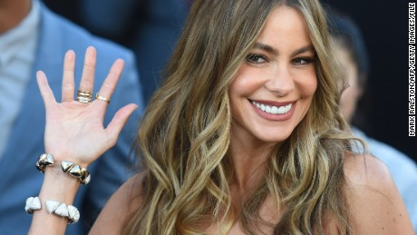 "Actress Sofia Vergara arrives for the premiere of the movie ""Magic Mike XXL"" at the TCL Chinese Theatre in Hollywood, California, on June 25, 2015.             AFP PHOTO/ MARK RALSTON        (Photo credit should read MARK RALSTON/AFP/Getty Images)"
