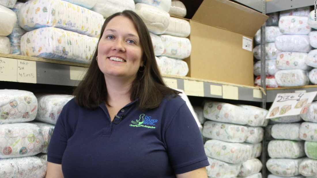 "<a href=""http://www.dcdiaperbank.org"" target=""_blank"">Corinne Cannon founded the D.C. Diaper Bank</a> when her son was only one years old. The nonprofit has provided nearly 2 million diapers to low-income families."