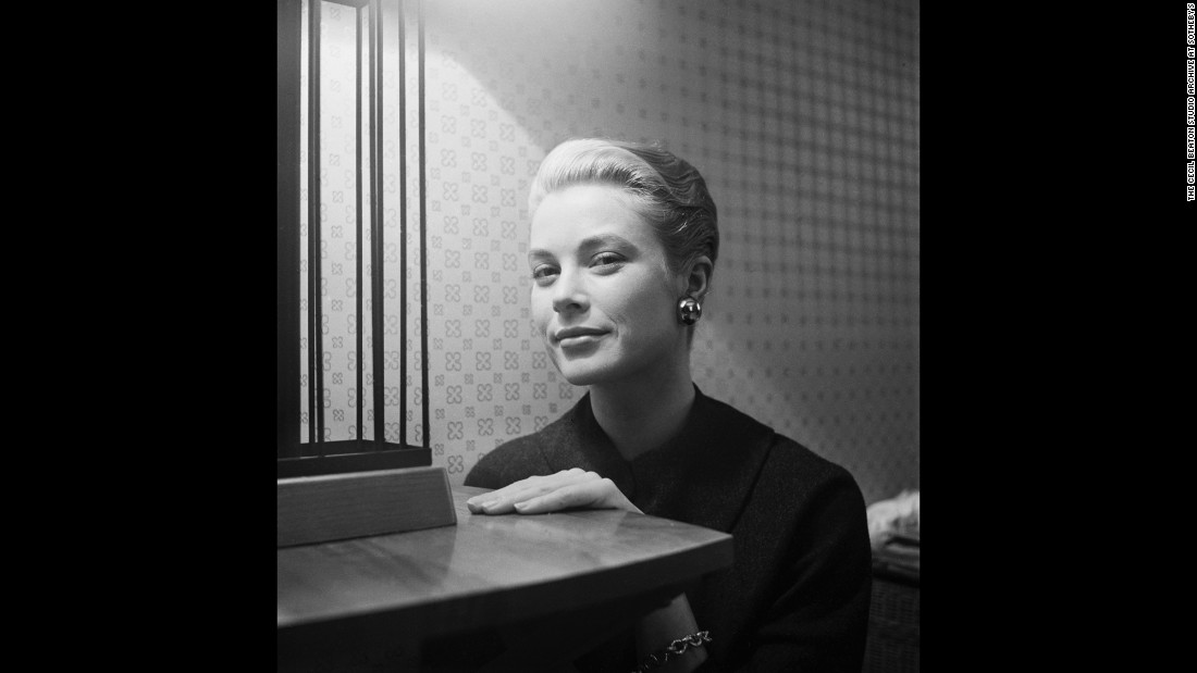"Grace Kelly, seen in this 1954 photograph, was subject to some caustic Beaton criticism. ""If both sides of her face were the same as the right half she wouldn't be on the screen,"" he wrote in his diaries. ""That side is very heavy, like a bull calf, but the left side is intensely feminine and creates the counter-point."""