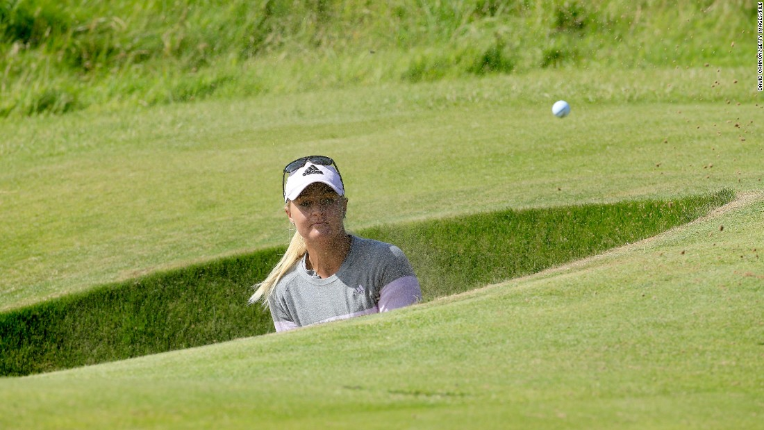 Sweden's Anna Nordqvist won her sole major at the 2009 PGA Championship. She has seven titles to her name across the LPGA and European Tours. She is ranked 10th in the world.