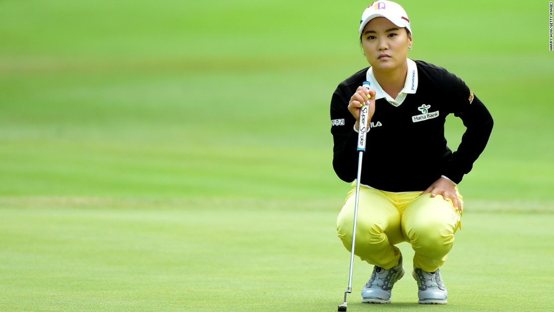 South Korea's 2011 U.S. Open champion So Yeon Ryu is ranked fourth in the world  and was rookie of the year in 2012.