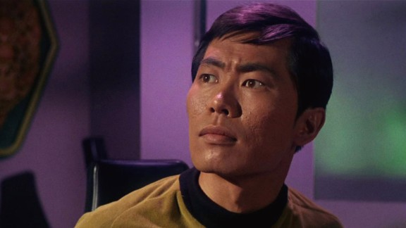 """George Takei portrayed Lieutenant Sulu on the """"Star Trek"""" series and in the subsequent movies."""
