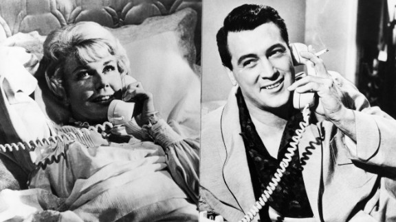"A split screen, a shared party line and a little sexual innuendo in ""Pillow Talk"" (1959) helped establish one of the screen's great romantic teams -- Doris Day and Rock Hudson.  The actor initially was reluctant to tackle a comedy role, especially opposite the more experienced Day. But the fellow Midwesterners clicked -- they teasingly dubbed each other ""Eunice"" and ""Ernie."" The stars reteamed for ""Lover Come Back"" (1961) and ""Send Me No Flowers"" (1964)."