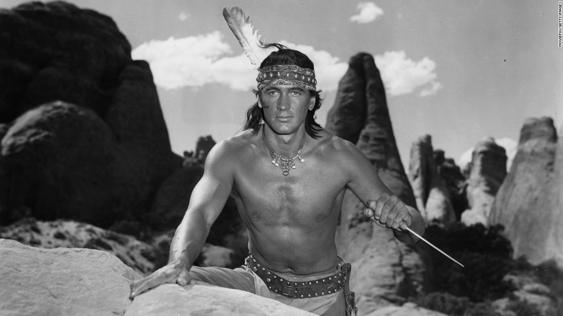 "Shortly before becoming a major star, Hudson made a less than convincing Native American in ""Taza, Son of Cochise"" (1954), donning a black wig and wearing dark makeup. The brazen miscasting in this Western was typical of many of his early mediocre movies, which relied heavily on his strapping 6-foot-4 physique. Shirtless photos of Hudson dominated fan magazines in the early '50s -- so much so that he became known as ""<a href=""http://www.washingtonpost.com/archive/lifestyle/1977/07/20/the-baron-of-beefcake-at-50/44cdf29e-f5b1-46eb-b717-7e95c7e9f287/"" target=""_blank"">the Baron of Beefcake</a>."""