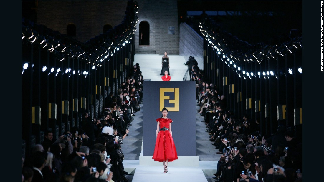 A Look At Fashion S Most Elaborate Catwalks Cnn Style