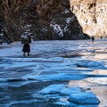 Chadar trek rapids