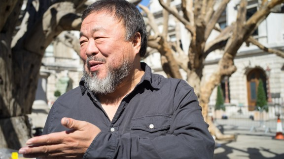 """Ai has been unable to travel outside the country since he was detained by authorities under mysterious conditions in 2011. He was issued a passport this July.  """"We did about 100 exhibitions in [the] past five years, and I never attended one of them."""""""