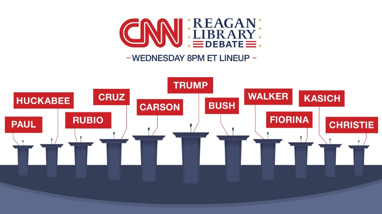Donald Trump leads GOP poll as debate nears