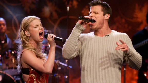 "Once upon a time in 1999, a young blonde pop star named Jessica Simpson met another young blond-ish pop star, Nick Lachey, at a Teen People party, and they immediately fell in love. Lachey even wrote a song about their passion -- that would be ""My Everything"" -- and then he and his new bride signed up to film their love for an MTV reality show called ""Newlyweds."" But instead of finding ""happily ever after,"" Lachey and Simpson found grounds for divorce in 2005 after three years of marriage. They both are now parents and married to others."