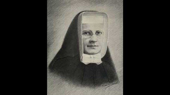 """Blessed Miriam Teresa Demjanovich was born in 1901 in New Jersey.  She joined the Sisters of Charity in 1925. She is best known for her spiritual writings, which were published after her 1927 death under the title """"Greater Perfection."""""""