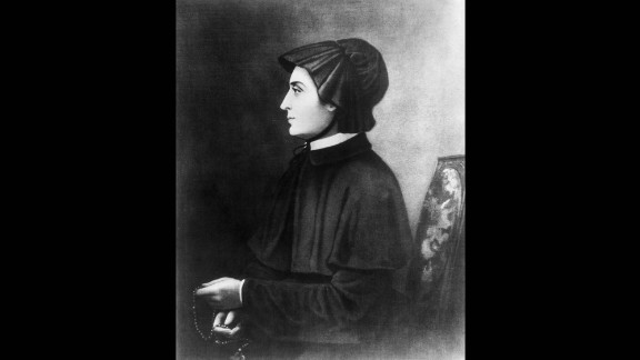 St. Elizabeth Ann Bayley Seton (1774-1821) was canonized as the first American-born saint in 1975. Seton converted to Catholicism after her husband's death. She founded the Sisters of Charity of St. Joseph, the first order of religious women in America, as well as several schools.