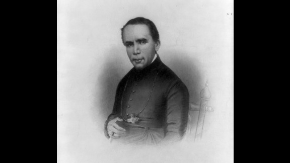 St. John Neumann was the first Redemptorist priest to profess his vows in the United States.  The German-born priest became a U.S. citizen in 1848, at age 36. He is best known for establishing the first unified system of Catholic schools in Philadelphia.