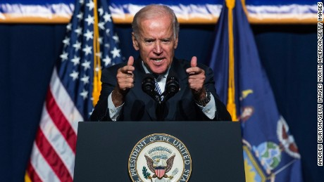 Vice President Joe Biden has yet to announce if he's running for president.