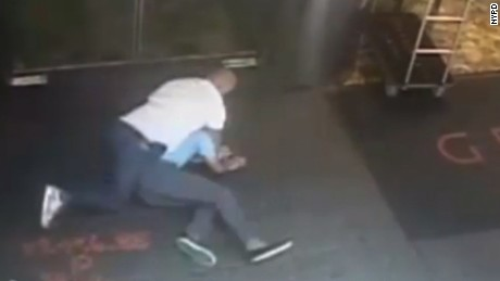 NYPD releases video of James Blake accidental takedown