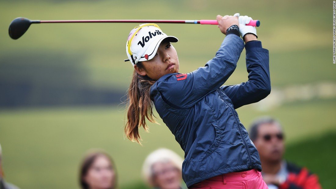 Mi Hyang Lee is in pole position heading into the weekend after posting a 66 on day two of the Evian Championship in France. The South Korean is on nine-under par, one shot ahead of America's Morgan Pressel.