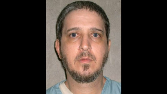 FILE- This file photo provided by the Oklahoma Department of Corrections shows death row inmate Richard Glossip. The Oklahoma Court of Criminal Appeals has set execution dates for three death row inmates who had challenged a drug that will be used in their lethal injections. Execution dates of Sept. 16, 2015 for 52-year-old Glossip, Oct. 7, 2015 for 50-year-old Benjamin Robert Cole, and Oct. 28, 2015 for 54-year-old John Marion Grant have been scheduled. (Oklahoma Department of Corrections via AP, File)