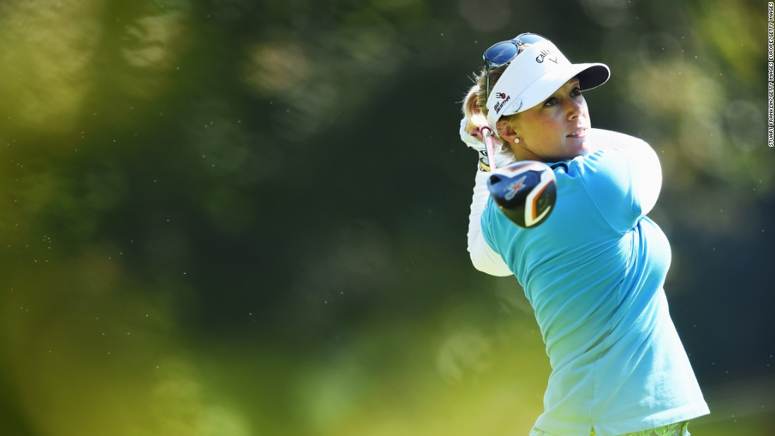 Pressel shot the best round on Friday. Her six-under 65 was her best-ever round at the championship.