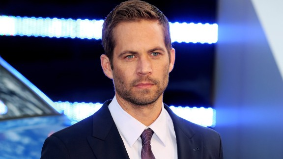 The late actor Paul Walker attending the premiere of