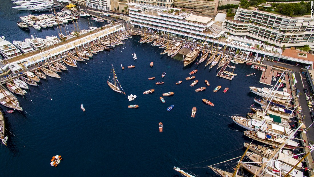 The regatta saw some 115 vessels moored at the Lord Norman Foster-designed Yacht Club de Monaco, which opened in June 2014.