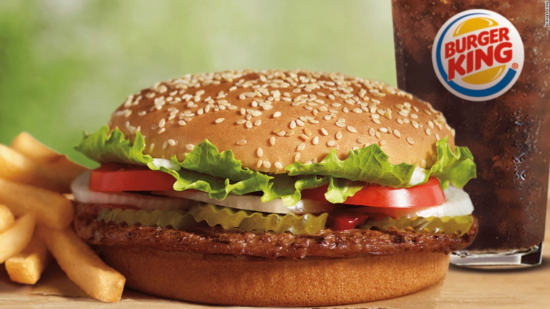 "Burger King earned three points out of a possible 34 and received a grade of F. The company responded to the grade, saying: ""Burger King Corp. is aware of the study and we will review the findings."""