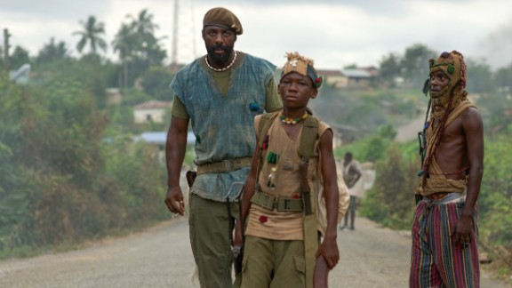 """""""Beasts of No Nation"""" follows a brutal civil war in an unnamed West African country."""