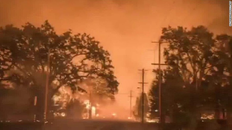 California fires claim 600 homes, threaten thousands more