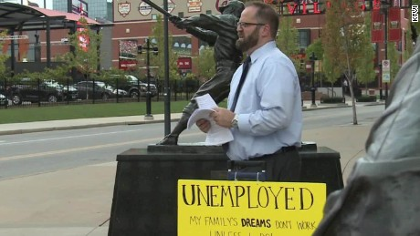 Unemployed Cardinals fan job search Good Stuff Newday _00004016