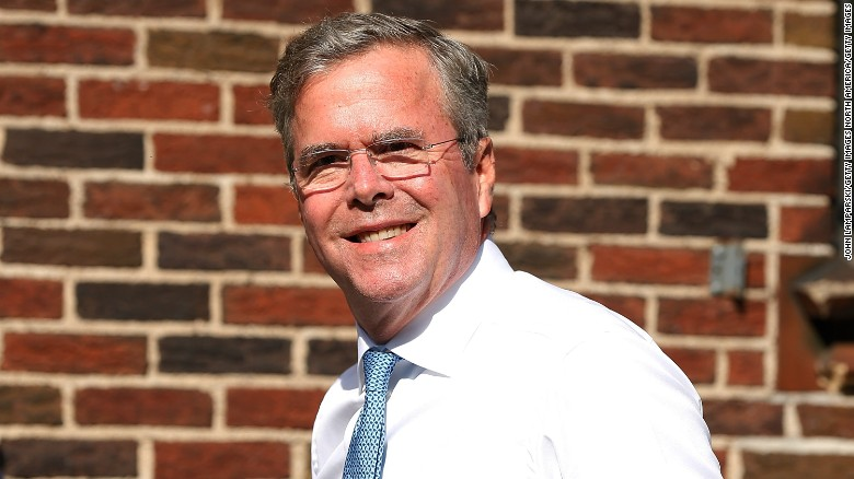 Jeb Bush talks about his father's health